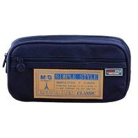 M&G 晨光 APB93598 多功能笔袋 蓝色 *5件