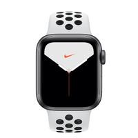 Apple 苹果 Watch Nike Series 5 智能手表 (40 mm、深空灰色铝金属表壳、白金配黑色Nike 运动表带、GPS)