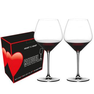 RIEDEL 礼铎 6409/07 心心相印系列 勃艮第红酒杯 2支装