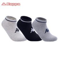KAPPA/背靠背  KP8W13 秋季运动短袜 三双装 *3件