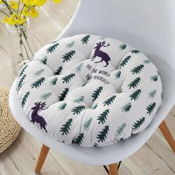 椅子坐垫圆形蒲团榻榻米地板坐垫家用