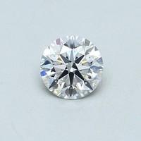 Blue Nile 0.45克拉 圆形切割钻石(切工EX,成色D,净度VVS2)