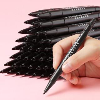 值友专享 : 博格利诺 双头勾线笔 黑色 10支装