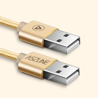 ASZUNE 艾苏恩 USB2.0 公对公数据线  3M