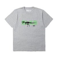 :CHOCOOLATE 恐龙骨架印花T恤