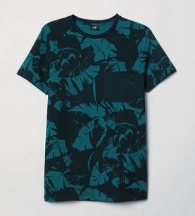 HM 0619561 男士修身T恤