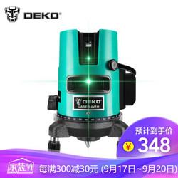 DEKO  LD蓝光激光水平仪5线红外线超平水仪  蓝光五线