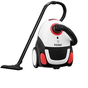 Haier 海尔 HZW1212R  大吸力吸尘机 黑白红色