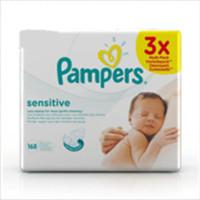 Pampers 帮宝适 敏感肌肤系列 744084 婴儿湿巾 56片*3包
