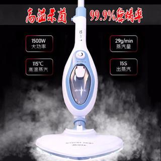 彤派 清洁机 10和1多功能蒸汽拖把高温蒸汽 杀菌除螨除尘去污除异味