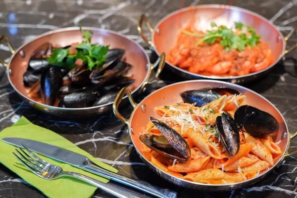 海陆空集结的饕餮狂欢!上海静安英迪格酒店饕餮盛宴秋季半自助套餐