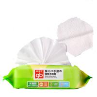 gb 好孩子 婴儿木糖醇口手湿巾 80片*5包