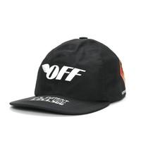OFF-WHITE GORE-TEX 联乘系列 标语印花棒球帽