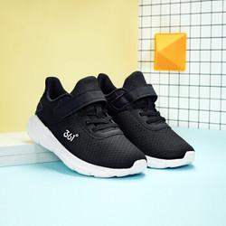 361° 361童鞋男中大童鞋子儿童运动鞋2019新款透气网鞋潮鞋 N71913590 碳黑 39