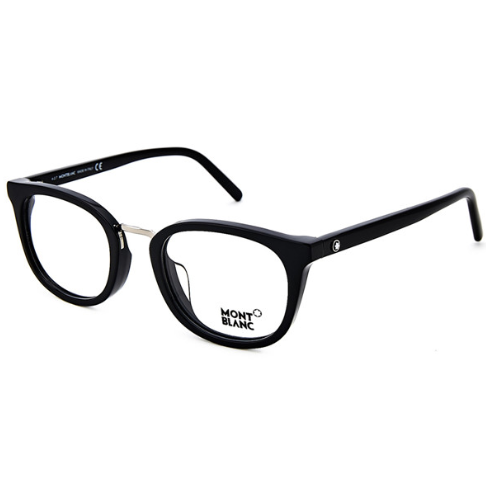MONT BLANC 万宝龙 匠心系列 MB678-F 全框光学镜架 黑色