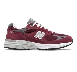 new balance 993 男款总统慢跑鞋 元祖灰 WR993GL 标准35/US5