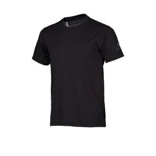 adidas 阿迪达斯 CE0818 男款运动T恤 (黑色、M)