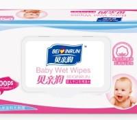 贝怡润 婴儿手口湿巾 70抽*1包