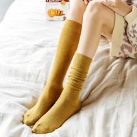 一拍G盒 秋冬小腿袜 3双装 多色可选