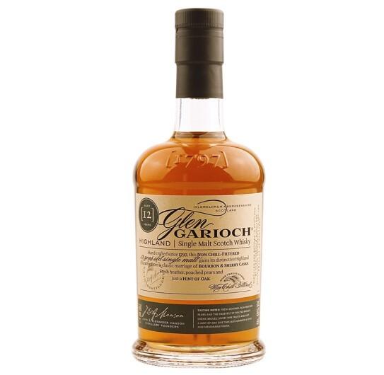 GLEN GARIOCH 格兰盖瑞 12年高地单一麦芽威士忌 700ml *2件