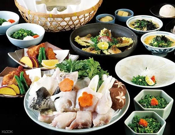 日本京都祇园玄品河豚料理店 日式河豚料理套餐(含预约)