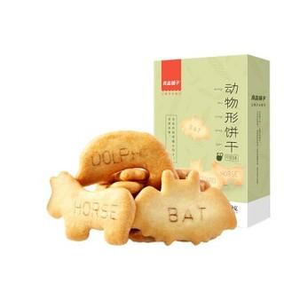 liangpinpuzi 良品铺子 动物形饼干牛奶味早餐代餐食品儿童休闲零食小包装60g