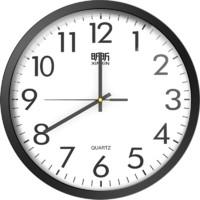 昕昕 钟表挂钟 (优雅黑、10寸)