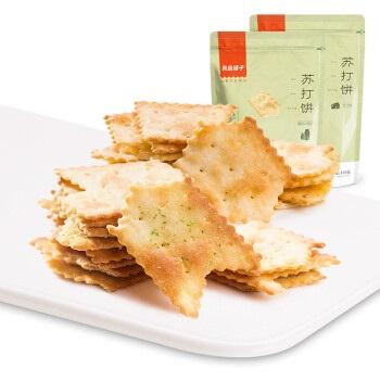 liangpinpuzi 良品铺子 苏打饼干   128g*1  芝士味
