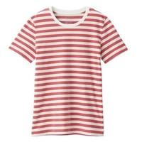 MUJI 无印良品 W9SB145 女士圆领T恤