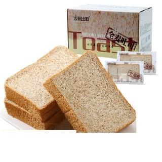 WEICHUDAO 味出道 全麦面包吐司片  2斤整箱