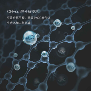 UCHEER 友好 T68 空气净化器 甲醛分解机家用除甲醛除雾霾PM2.5除菌卧室静音 (白色)