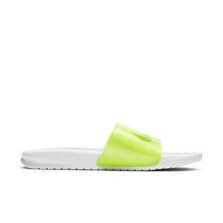 NIKE 耐克 CI5927 BENASSI JDI PRINT男子拖鞋夏季透气休闲鞋 (荧光黄、45)