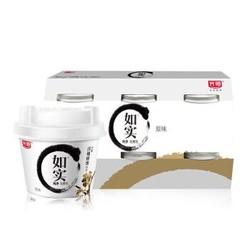 光明 如实  洋槐蜂蜜原味  135g*6 发酵乳酸奶酸牛奶 *2件