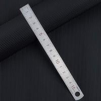 deli 得力 8464 不锈钢直尺 15cm