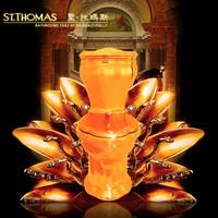 圣托玛斯 CT-18008 黄金马桶 LOTUS露得斯系列 定制版
