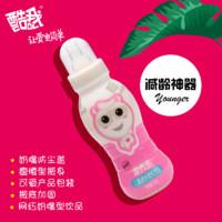 酷我营养多草莓味乳饮品儿童成长奶嘴型含乳饮品200g*12瓶一箱装