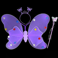 郡士 花仙子三件套 翅膀+魔法棒+头饰
