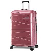 美旅AmericanTourister明星同款拉杆箱 男女学生大容量旅行箱耐磨飞机轮TSA锁 20英寸DX2登机箱肉粉色 *2件