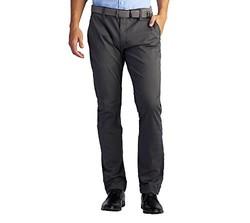 Lee 男式现代系列修身斜纹棉布裤