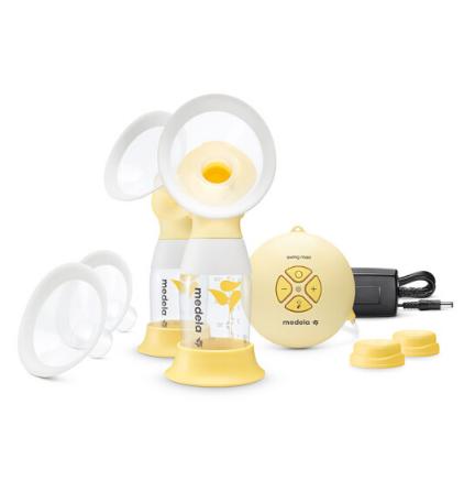 medela 美德乐 丝韵·翼 舒悦版 母乳电动吸奶器双侧 Flex舒悦科技 Swing Maxi Flex 新品升级(瑞士进口)