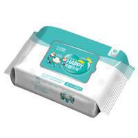 幸福未来 婴儿湿巾 手口湿巾  80片无香型