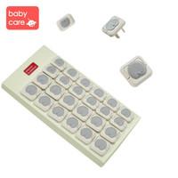BabyCare 葆婴 4066 儿童安全插座防护盖宝宝 防触电插头安全塞 (迷洁灰)