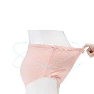 OCTMAMI 十月妈咪 孕妇内衣  高腰托腹可调节  三条包 纯色 XL 5111303