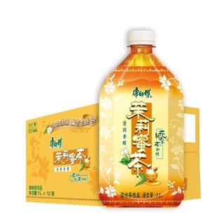 康师傅 茉莉蜜茶1L*12瓶 箱装 茶饮料