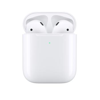 聚划算百亿补贴:Apple 苹果 新AirPods(二代)真无线蓝牙耳机 有线充电盒版