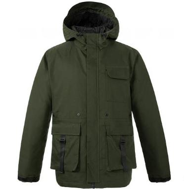Uleemark 佑旅优品 118319049 男士工装棉夹克 (橄榄绿、M)