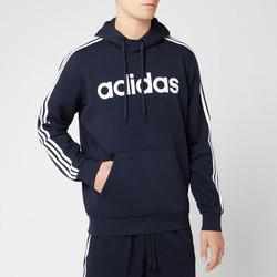 adidas 阿迪达斯 Essential 3 Stripe 男款连帽卫衣