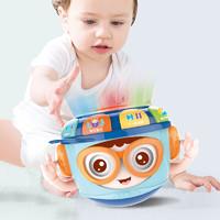 蓓臣  婴儿早教玩具不倒翁手拍鼓 0-1岁
