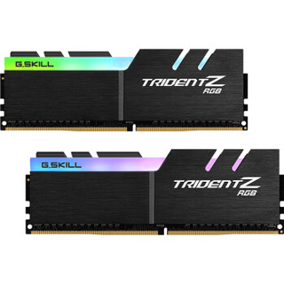 G.SKILL 芝奇 F4-3200C14D-16GTZR 幻光戟系列 DDR4 3200频率 (黑色、16G、1.35V)