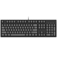 iKBC 机械键盘 有线键盘 游戏键盘 104键 原厂cherry轴 樱桃轴 吃鸡 笔记本键盘 黑色 静音红轴 自营